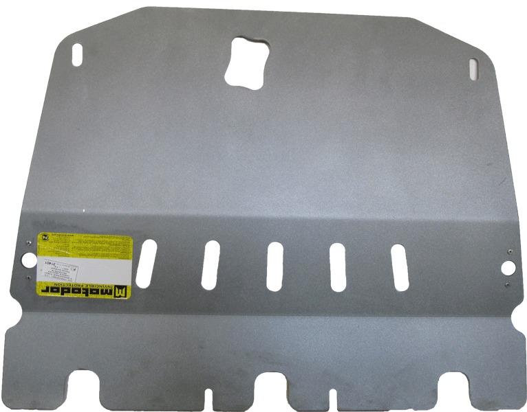Защита картера двигателя, КПП Nissan Qashqai 2006-2014 V= все (алюминий 5 мм), MOTODOR31401