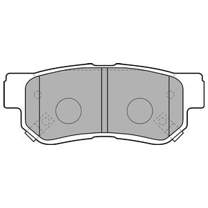 Колодки дисковые, DELPHI, LP1539