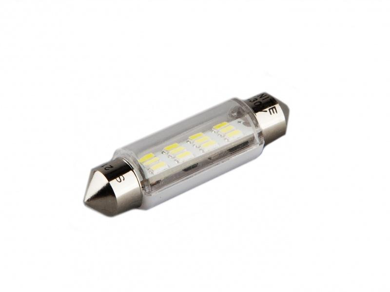 Лампа светодиодная салонная XENITE T11 (9-30V) (Яркость 140 Lm) упаковка 2шт., 1009334