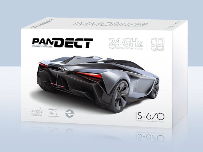 Иммобилайзер PANDECT IS670