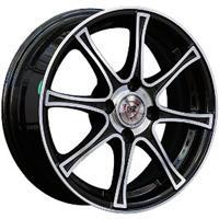 Колесный диск NZ SH607 5.5x14/4x100 D70.3 ET45 черный полностью полированный (BKF)