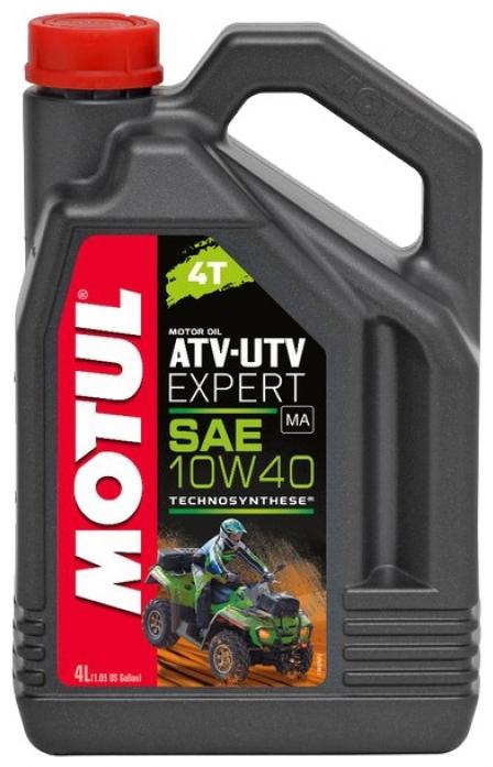 Моторное масло MOTUL ATV-UTV Expert, 10W-40, 4л, 105939