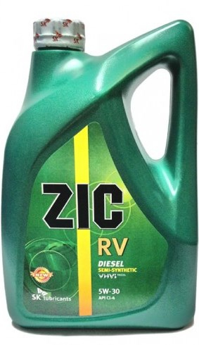 Моторное масло ZIC RV, 5W-30, 6л, 177134