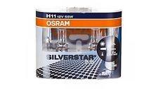 Лампа SILVERSTAR 2.0, 12 В, 55 Вт, H11, PGJ19-2, OSRAM, 64211SV2DUOBOX