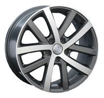 Колесный диск Ls Replica VW63 7x16/5x112 D57.1 ET45 серый матовый, полностью полированный (GMF)