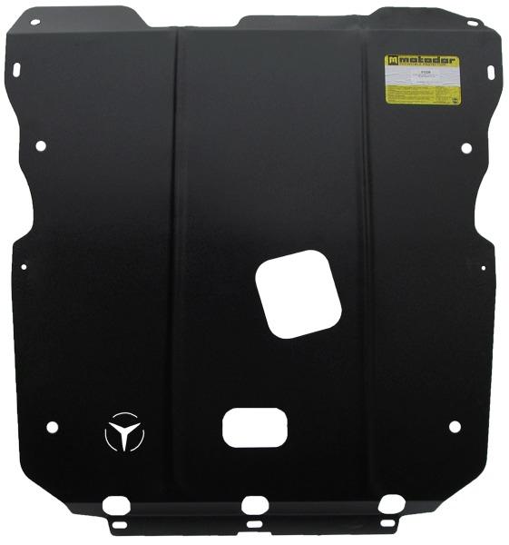 Защита картера двигателя, КПП MB B-klasse 2005-2011 V=2.0 (сталь 2 мм), MOTODOR01226