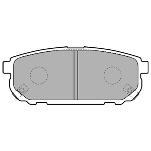 Колодки дисковые, DELPHI, LP1850