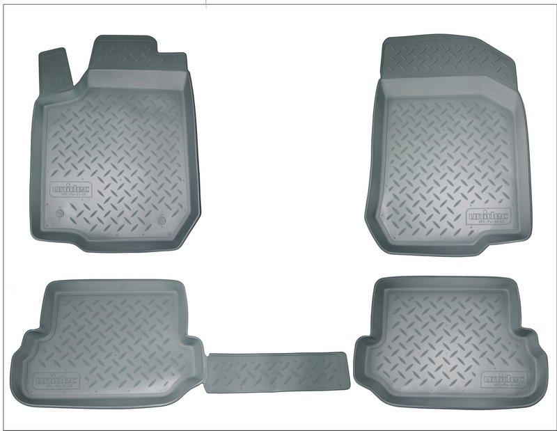 Коврики салона для Toyota RAV 4 (2013- / 2015-) (серый), NPA11C88700GREY