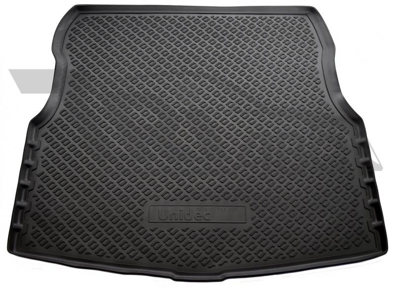 Коврик багажника для Nissan Almera (Ниссан Альмера) Седан (RU) G11 (2013-), NPA00T61020