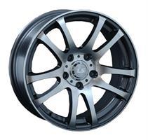 Колесный диск LS Wheels LS 283 6.5x15/5x114,3 D73.1 ET40 серый матовый, полностью полированный (GMF)