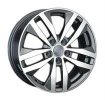 Колесный диск Ls Replica VW144 6.5x16/5x112 D57.1 ET42 черный матовый, полностью полированный (GMF)