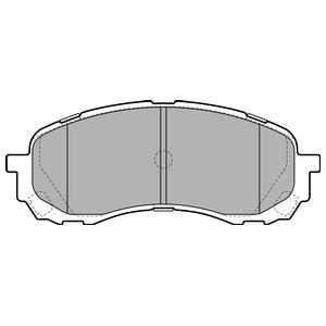 Колодки дисковые, DELPHI, LP2128