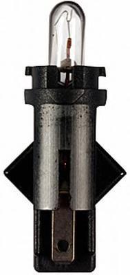 Лампа, 12 В, 1,2 Вт, BG8,5-5,5d, HELLA, 8GA 007 997-231