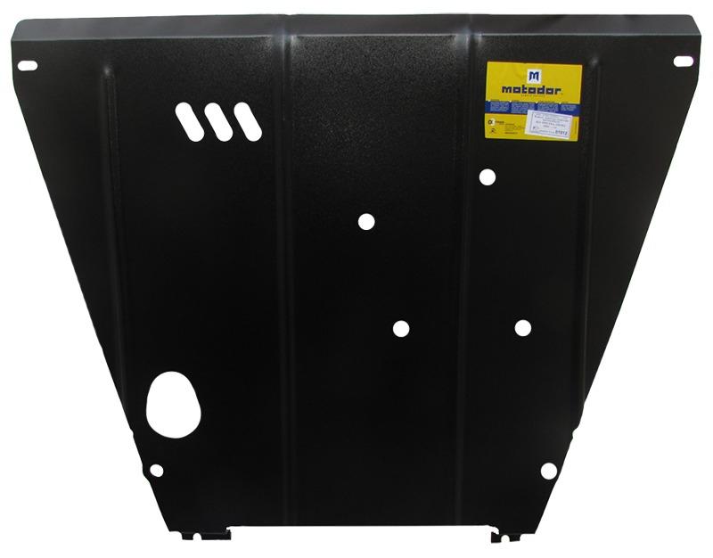 Защита картера двигателя, КПП Kia Spectra 2005-2011 V= все (сталь 2 мм), MOTODOR01012