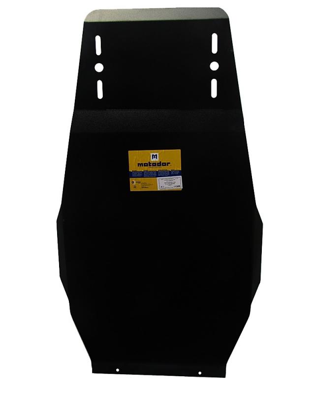 Защита картера РК Mitsubishi L200 2006-2013 V= все (сталь 3 мм), MOTODOR11309