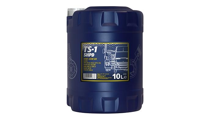 Моторное масло MANNOL TS-1 SHPD, 15W-40, 10 л, 4036021146676