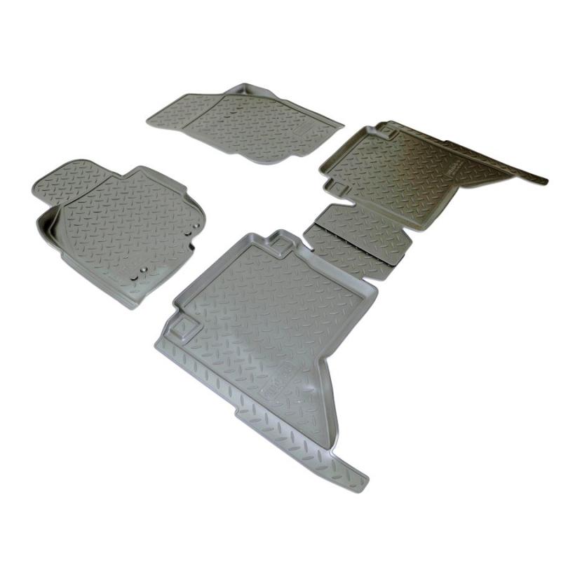 Коврики салона для Toyota Hilux (2011-2015), NPLPO88181