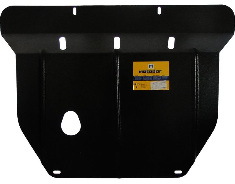 Защита картера двигателя, КПП Fiat Punto II (188) 1999-2005 V= все (сталь 2 мм), MOTODOR00605