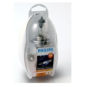 Лампа, 12 В, H4, PHILIPS, 55473EKKM