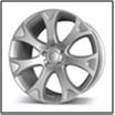 Колесный диск Fr replica 722 10.5x20/5x120 D54.1 ET45 серебро (S)