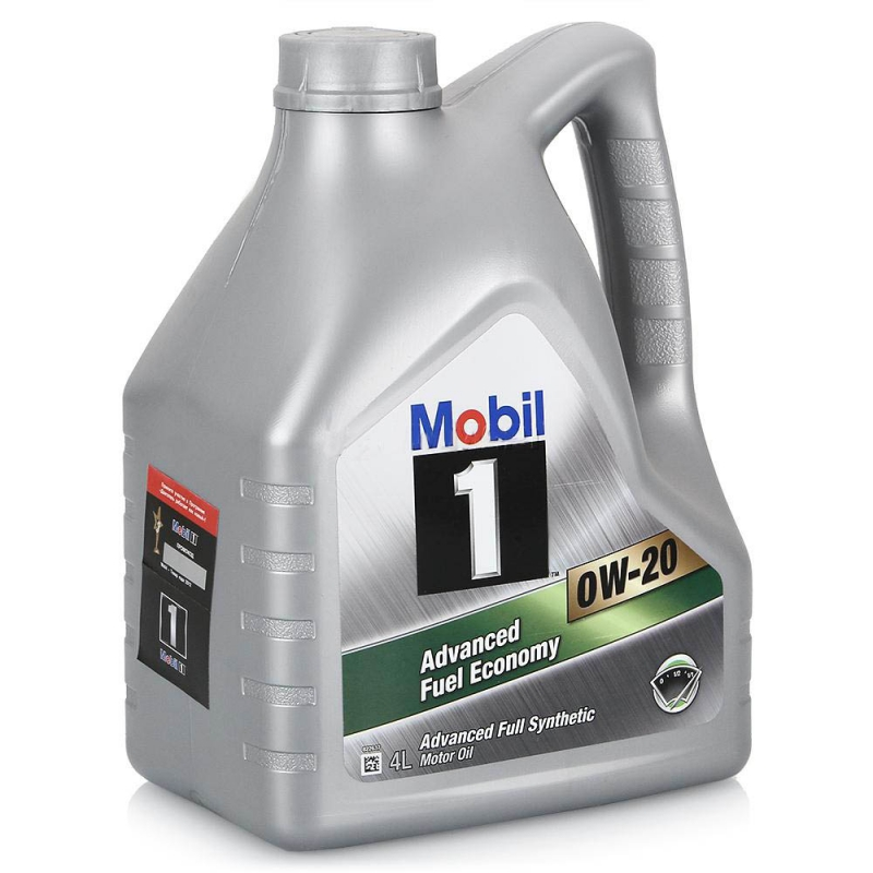 Моторное масло Mobil Advanced Fuel Economy, 0W-20, 4л