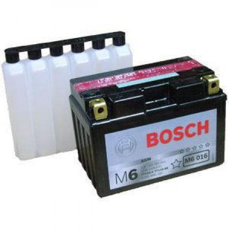 Аккумуляторная батарея Bosch Funstart AGM, 12 В, 11 А/ч, 140 А, 0092M60160