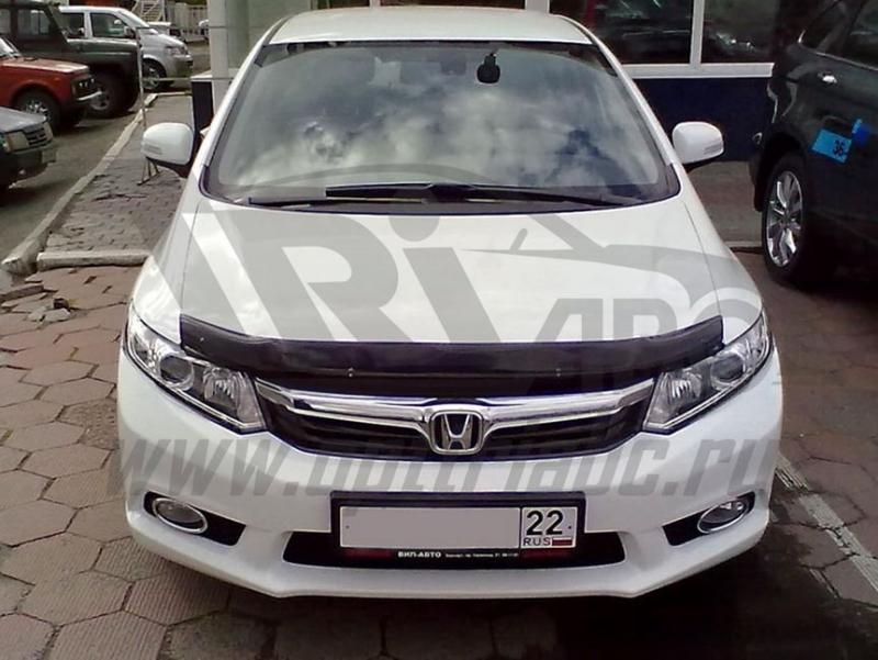 Дефлектор капота Honda (Хонда) Civic (Цивик) SD (2012-), SHOCIVS1212