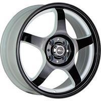 Колесный диск X-Race AF-05 6.5x16/5x114,3 D66.1 ET45 белый+черный (W+B)