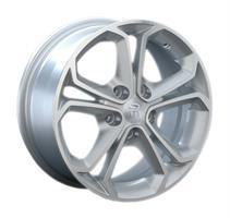 Колесный диск Ls Replica OPL10 6.5x15/5x105 D66.6 ET39 серый матовый полированный (GMF)