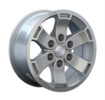 Колесный диск Ls Replica MZ31 7x16/6x139,7 D106.1 ET10 серебристый (S)