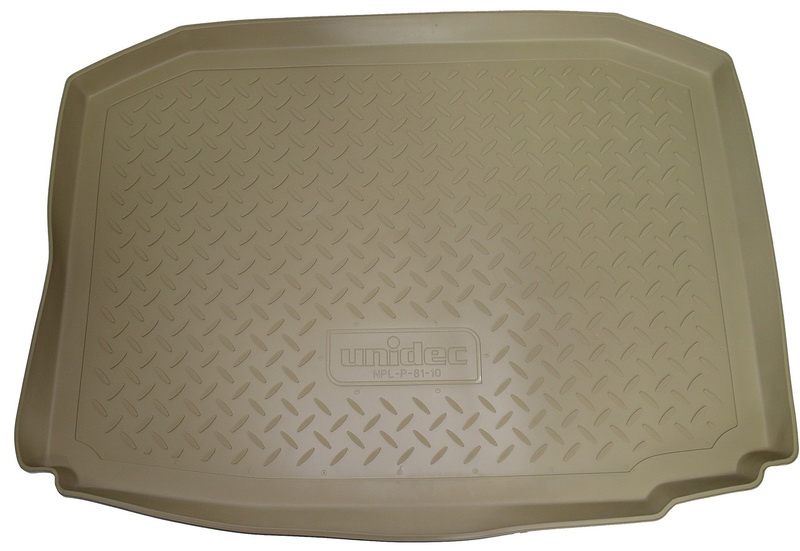 Коврик багажника для Citroen (Ситроен) C4 (N) Седан (2013-) Бежевый, NPA00T14130BEIGE