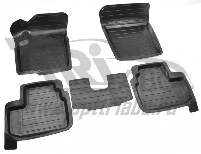 Коврики салона резиновые с бортиком для Suzuki sx 4 (2008-2013), ADRAVG124