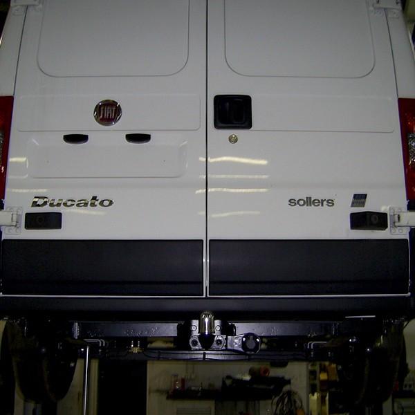 Фаркоп Peugeot (Пежо) BOXER III FURGON L1, L2, L3 (2006-) без электрики, БАЛТЕКС, 17230522