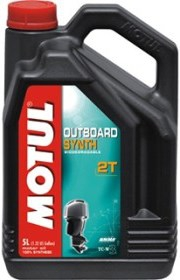 Масло моторное MOTUL Outboard SYNTH 2T, 5л, 101723