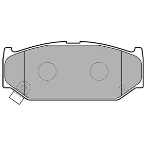 Колодки дисковые, DELPHI, LP2182