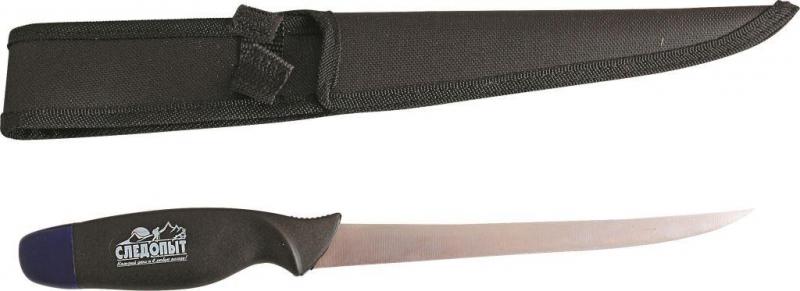 Нож разделочный Следопыт нетонущий, дл. клинка 180 мм, в чехле, PFPK03