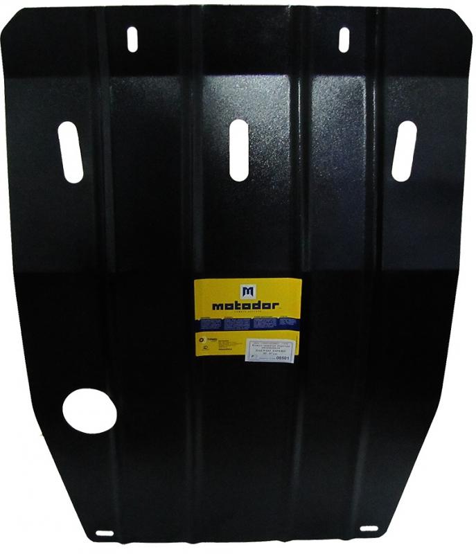 Защита картера двигателя, КПП Daewoo Espero (KLEJ) 1990-1999 V= все (сталь 2 мм), MOTODOR00501