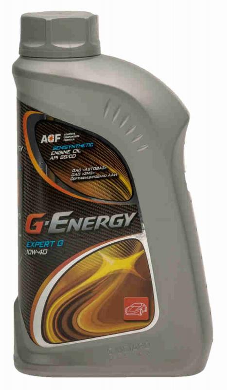 Моторное масло G-ENERGY Expert G, 10W-40, 1л, 4630002597541