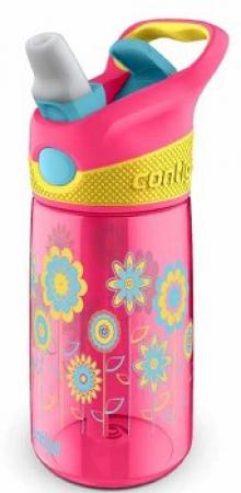 Детская бутылка для воды Contigo Striker, розовая, 420 мл, 10000349