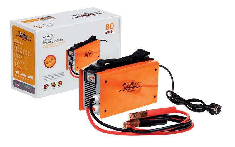 Пускозарядное устройство AIRLINE, 12 В от 220 В, 80 А, AJS8004