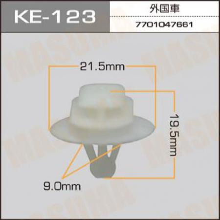 Клипса автомобильная (автокрепеж) MASUMA, KE123