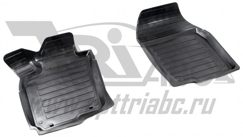 Коврики салона резиновые с бортиком для Toyota RAV4 (2013-) (2 передних), ADRAVG1162