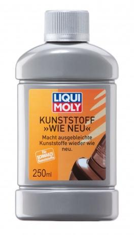 LiquiMoly Kunststoff Wie Neu 0.25L_средство для ухода за пластиком !наружным черным\\