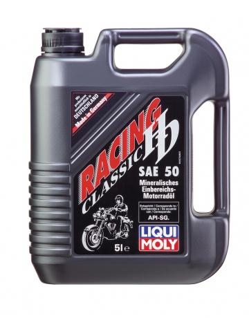 Масло моторное 4-х тактное минеральное SAE 50 1L Racing HD-Classic