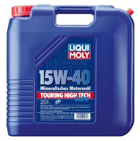 Масло моторное LIQUI MOLY Touring High Tech SHPD 15W-40 20л
