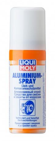 LIQUI MOLY 7560 LiquiMoly Алюминиевый спрей Aluminium-Spray (0,05л)