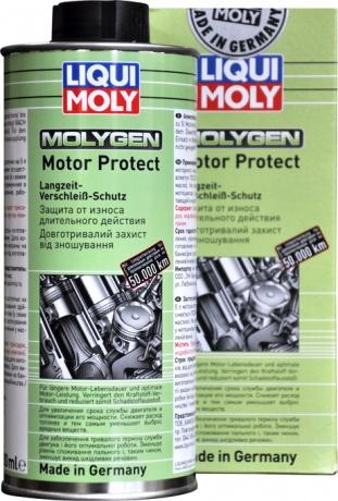9050 LiquiMoly Антифрикц.присадка д/долговр.защиты двиг.Molygen Motor Protect (0,5л)