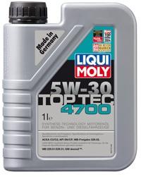 5W-30 SM/CF Top Tec 4700 1л (HC-синт.мотор.масло)