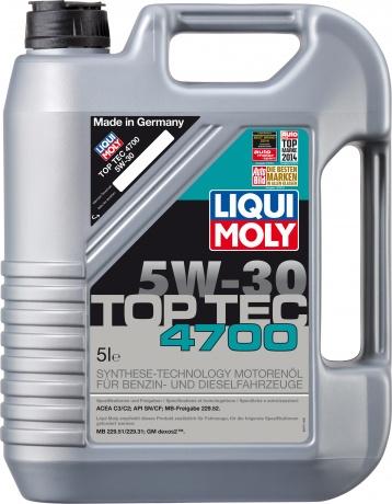5W-30 SM/CF Top Tec 4700 5л (HC-синт.мотор.масло)