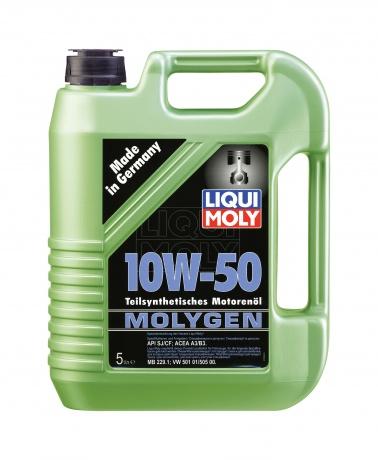 LiquiMoly 10W50 Molygen 5L масло мот